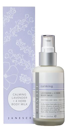 Calming Lavender + 4 Herb Body Milk