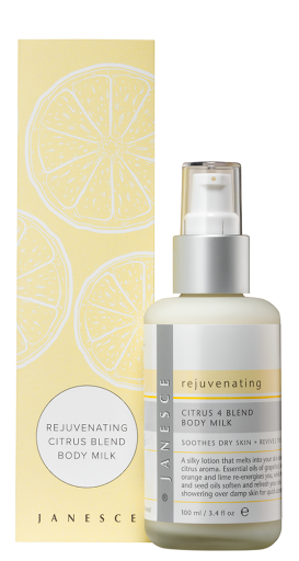 Rejuvenating Citrus + 4 Blend Body Milk