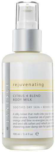 Rejuvenating Citrus 4 Blend Body Milk