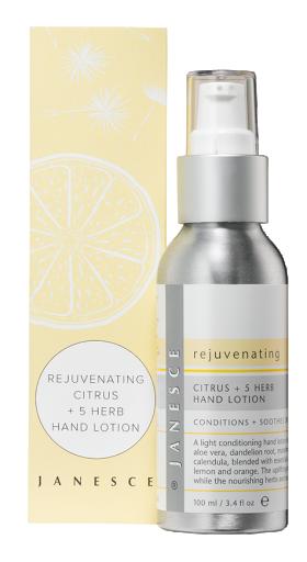 Rejuvenating Citrus + 5 Herb Hand Lotion
