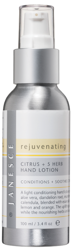 Rejuvenating Citrus & 5 Herb Hand Lotion